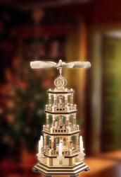 Weihnachtspyramiden & Weihnachten Pyramiden · 3-stöckige Pyramiden
