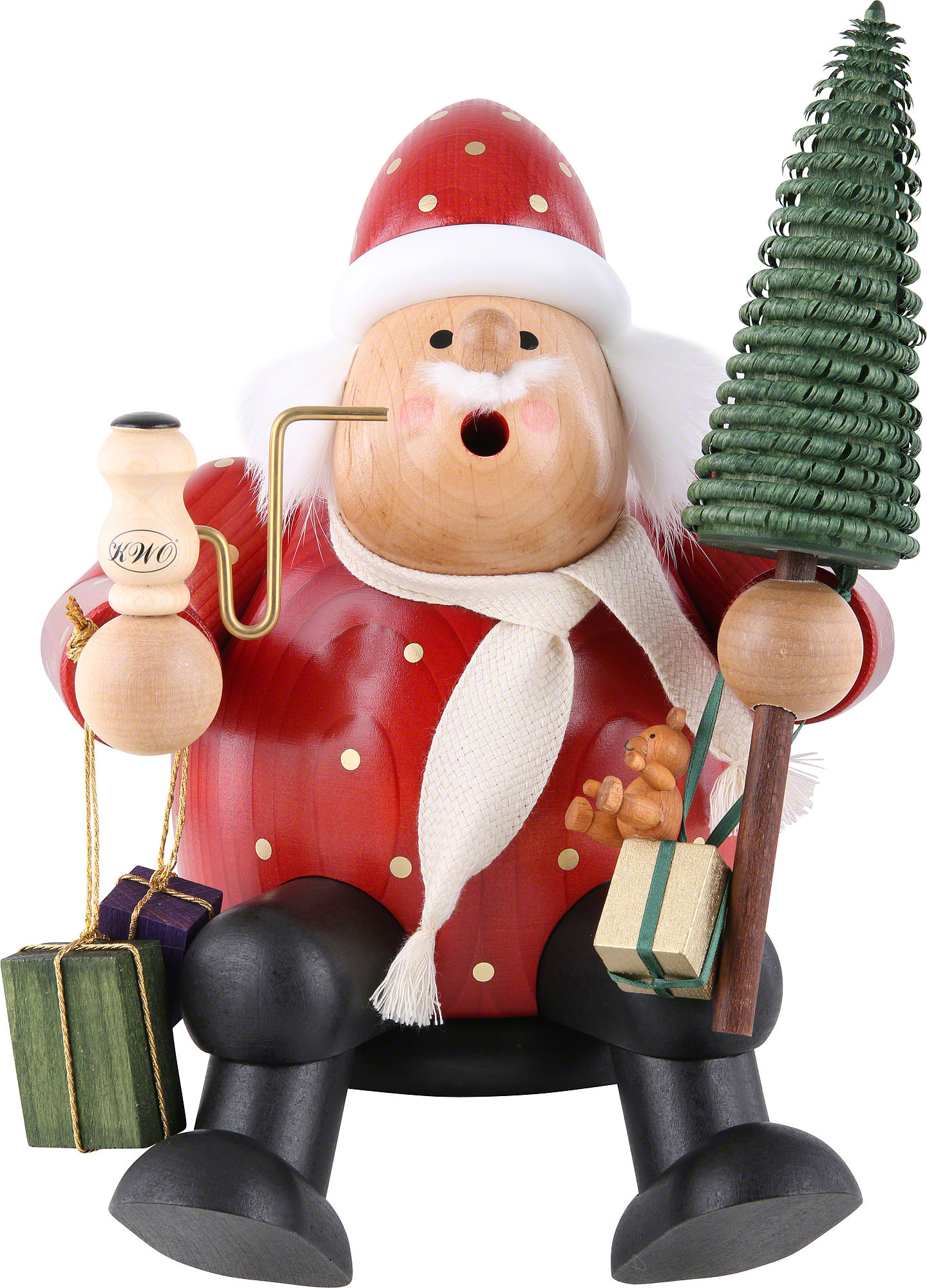claus ip size standing santa life foot decorations huge walmart decorative com plush decor
