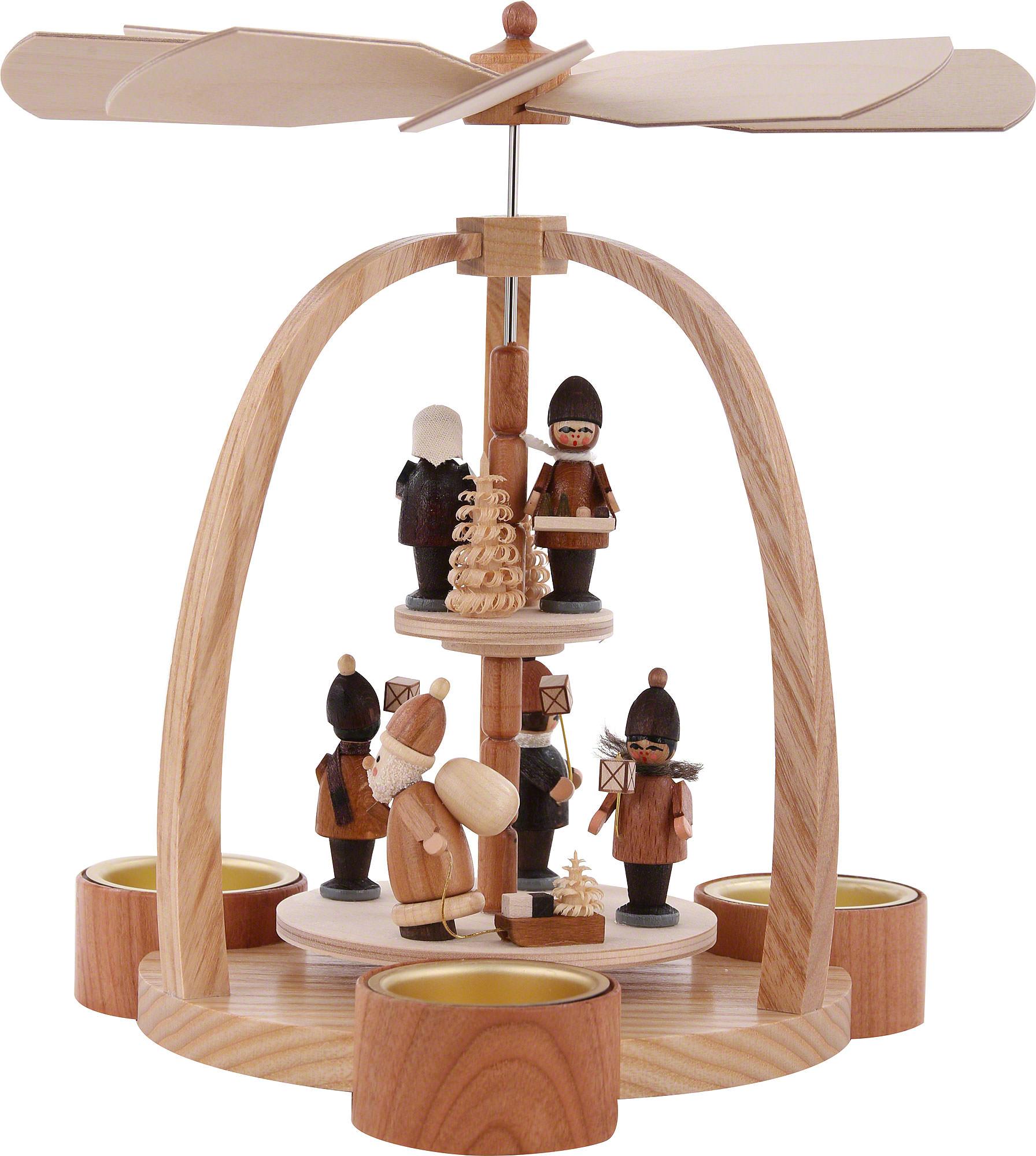2 st ckige pyramide striezelkinder 24 cm von knuth neuber. Black Bedroom Furniture Sets. Home Design Ideas