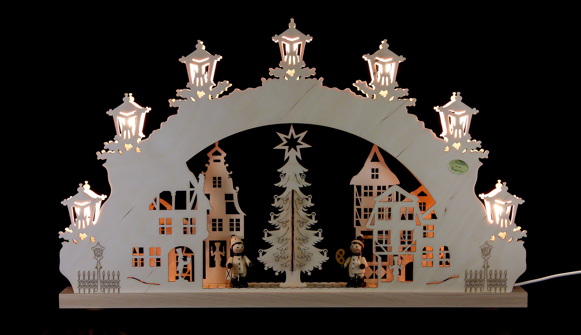 3d candle arch christmas market 52 32 4 5 cm 20 5 12 for Arch candle christmas decoration