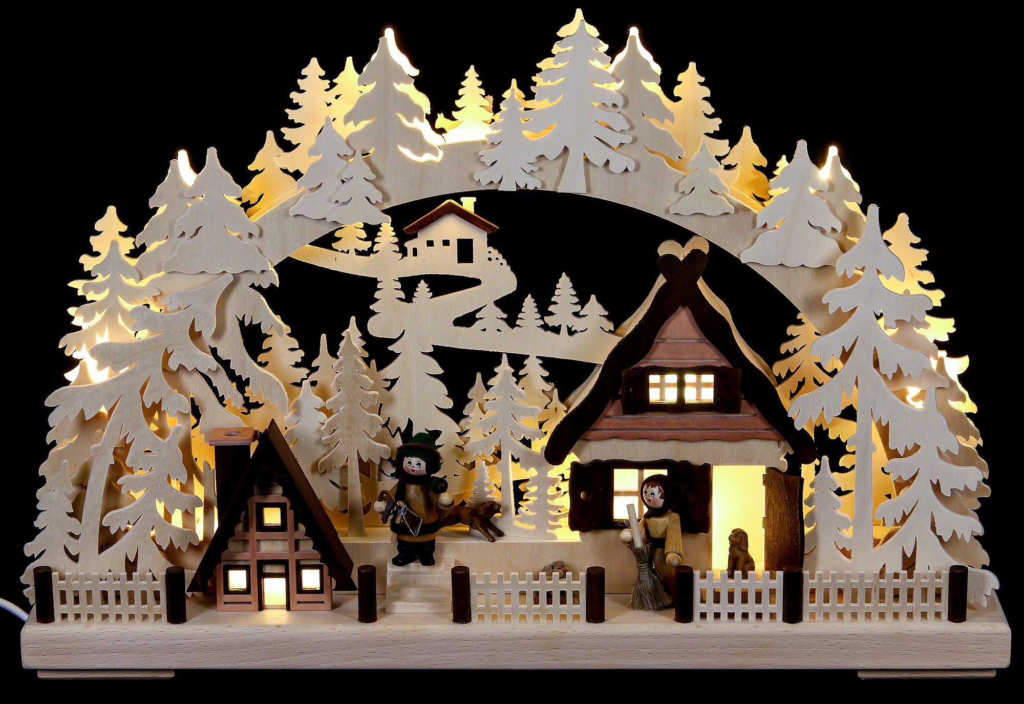 3D Candle Arch - Christmas Preparations (43×30 cm/17×12in) by ...