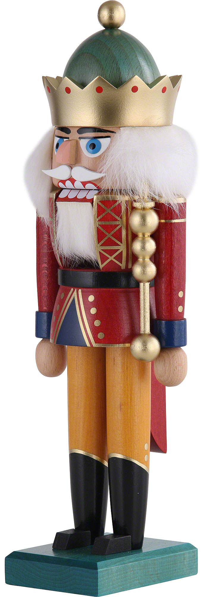 Crown King Az >> Nutcracker - King with Crown (29 cm/11in) by KWO