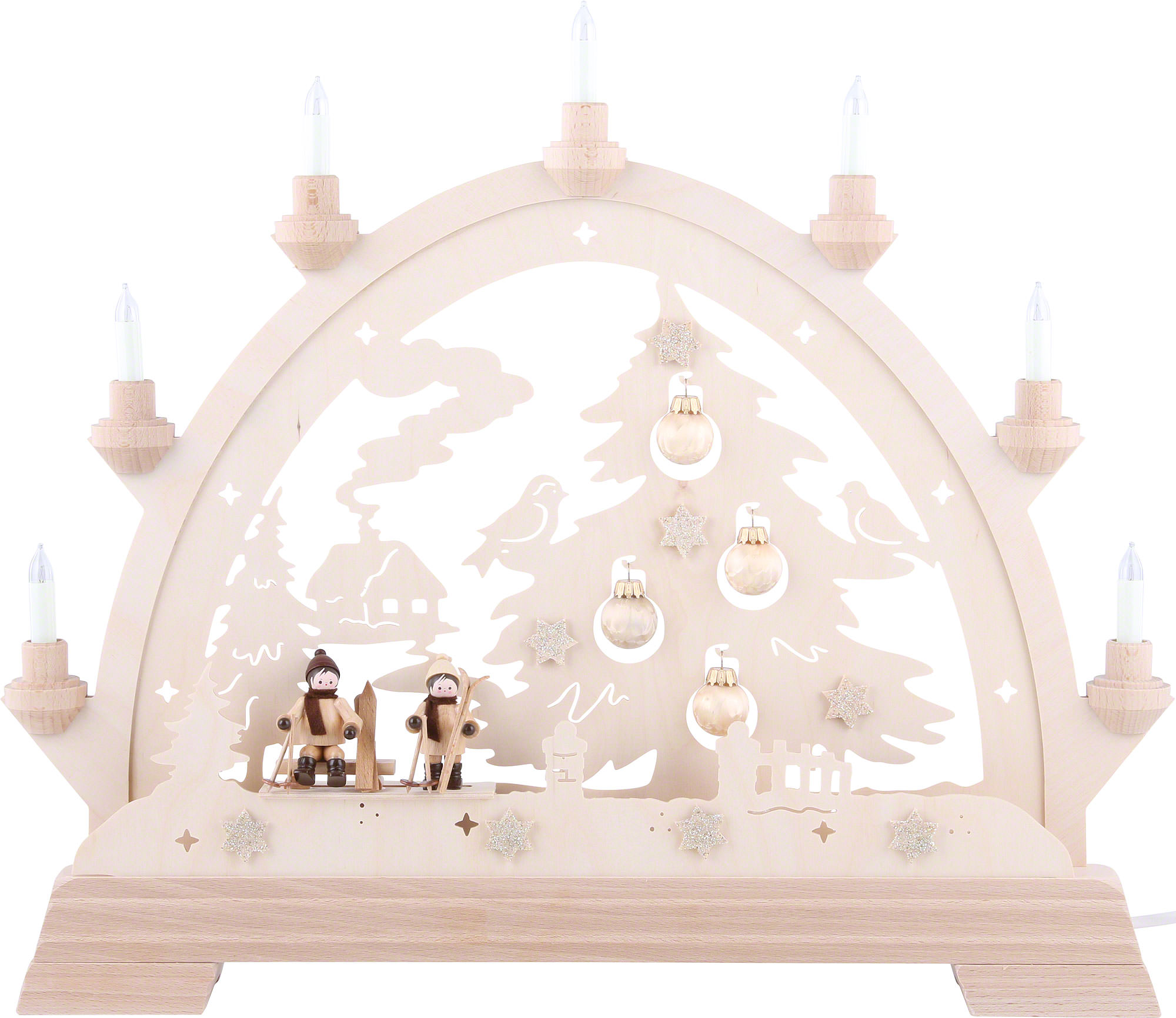 Candle arch christmas tree 40 43 cm 16 16in by kwo for Arch candle christmas decoration