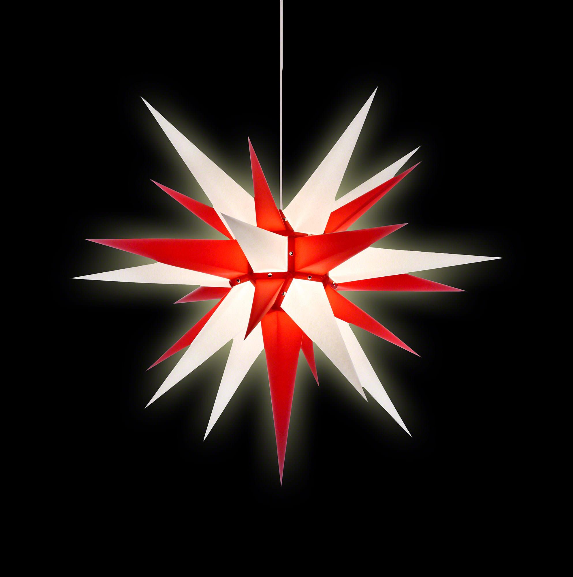 herrnhuter stern i7 wei rot papier 70 cm von herrnhuter sterne. Black Bedroom Furniture Sets. Home Design Ideas