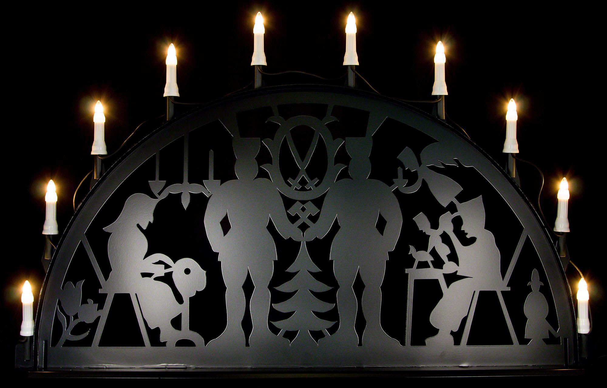 schwibbogen f r au en bergmann 100 300 cm von metallschwibb gen. Black Bedroom Furniture Sets. Home Design Ideas