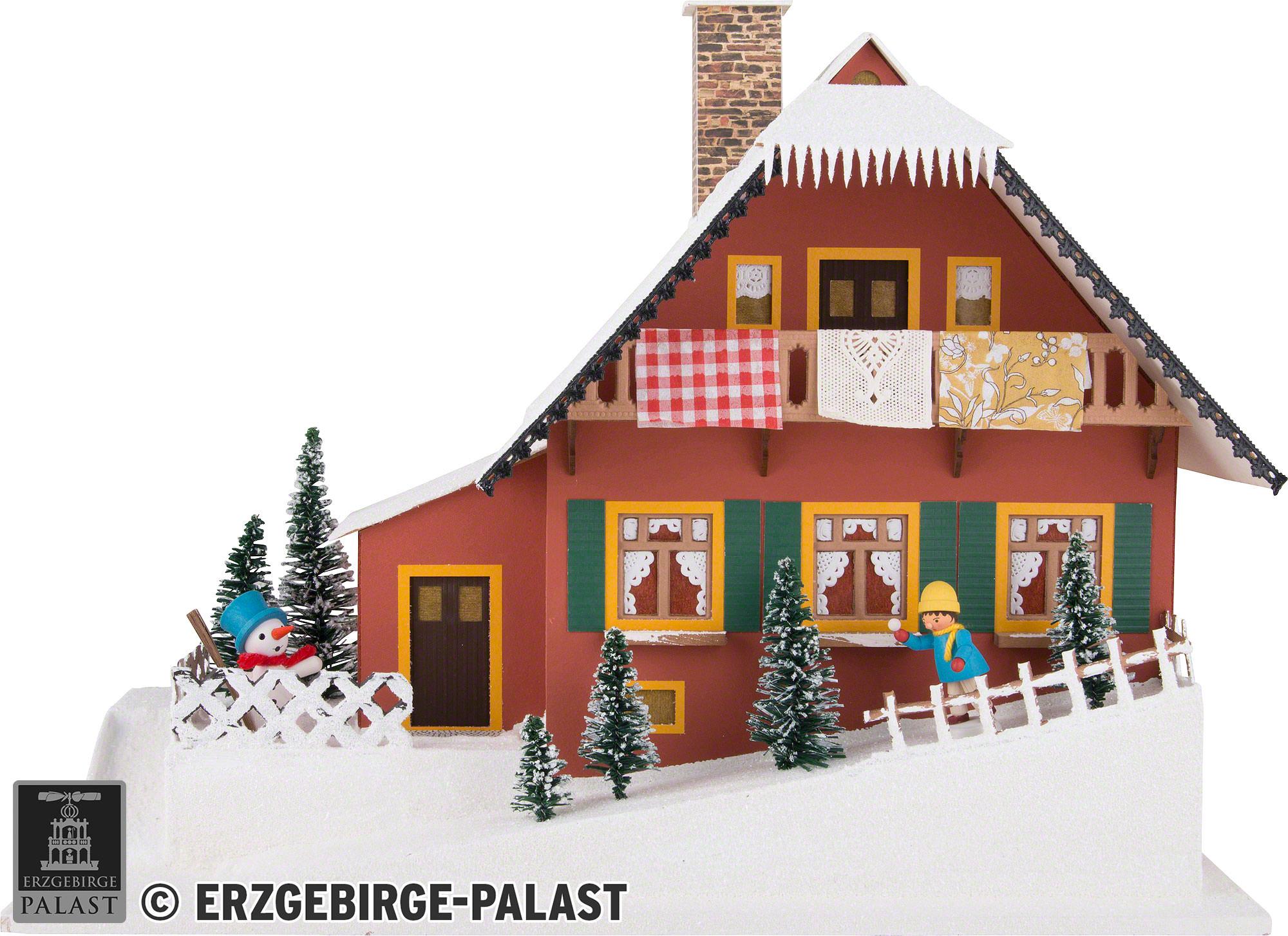Lichterhaus Haus Am Berg 29 5 Cm Von Lichterhauser Uhlig