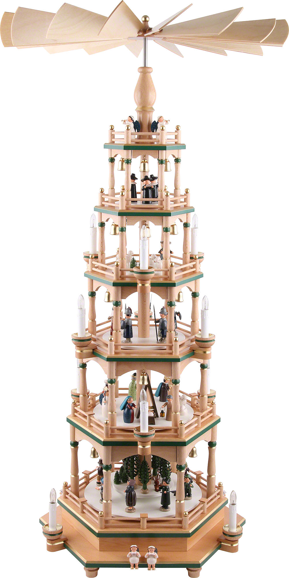 6 st ckige pyramide paradies 106 cm von kwo. Black Bedroom Furniture Sets. Home Design Ideas