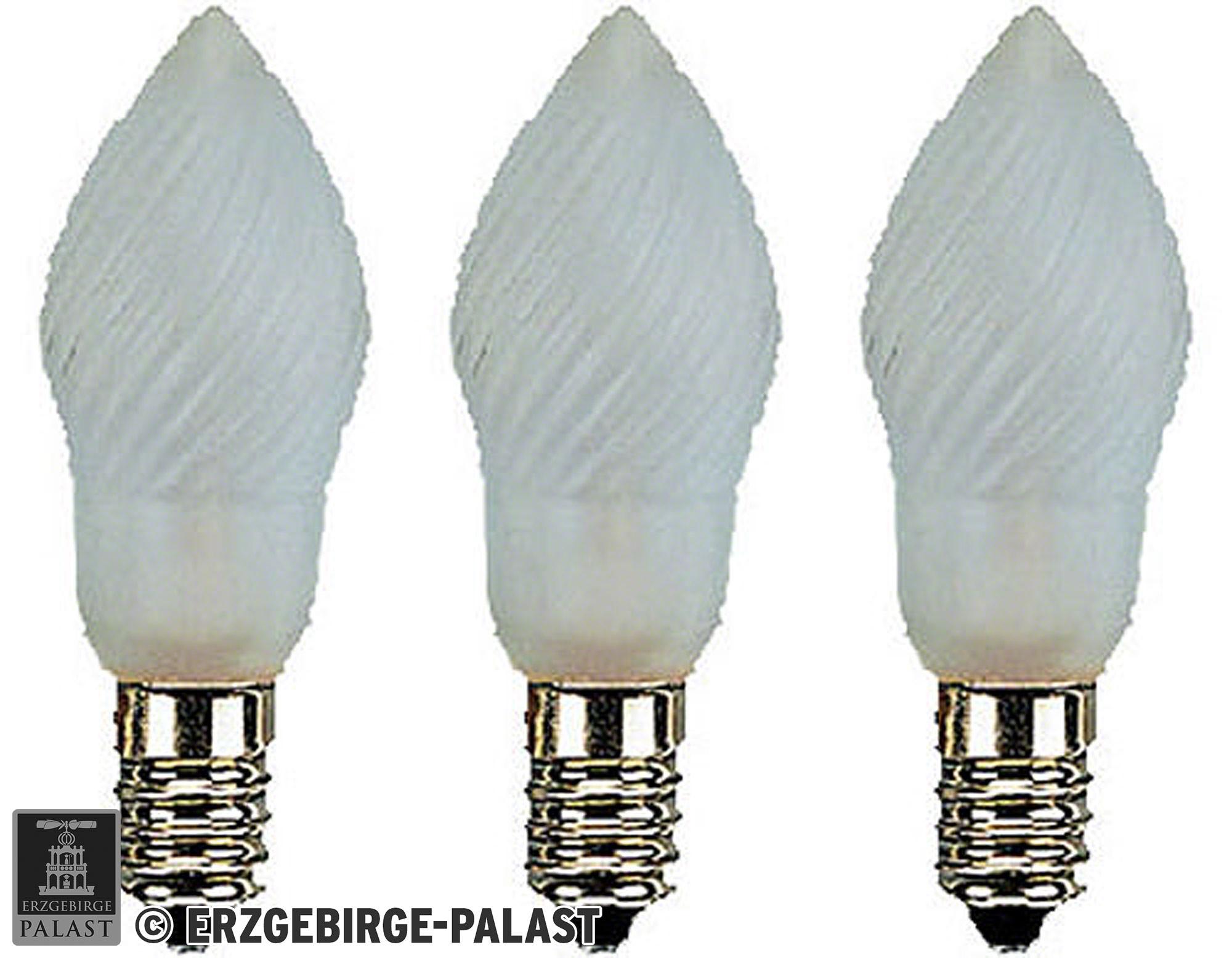 birnenlampe gefrostet sockel e14 12v 3w von erzgebirge palast. Black Bedroom Furniture Sets. Home Design Ideas