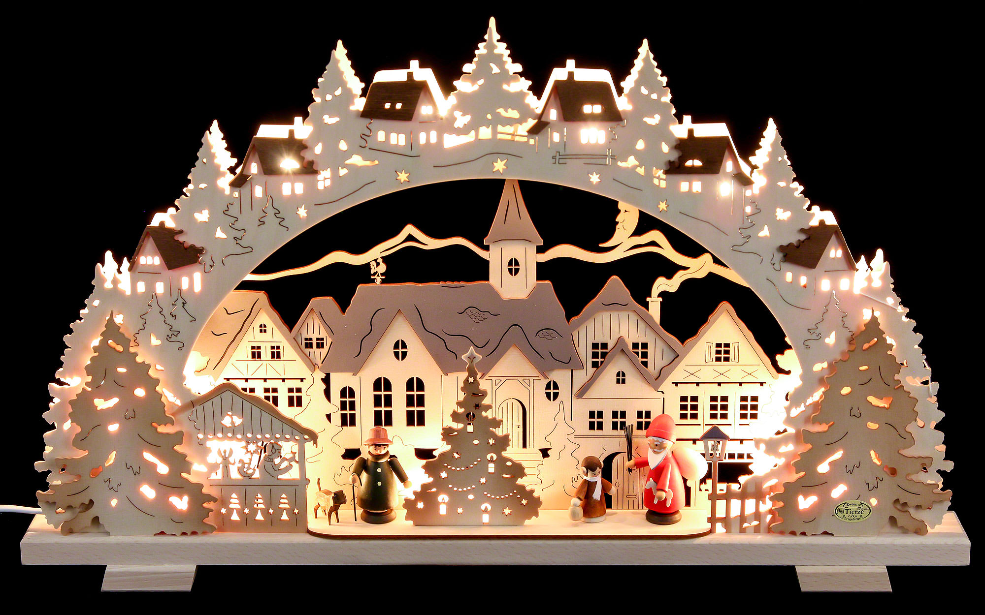 Candle Arch - Christmas Time Exclusive (53×31×4,5 cm/21×8×1.8in ...