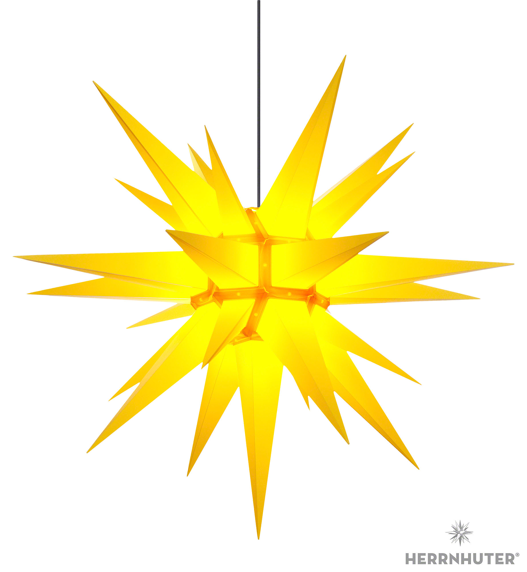 herrnhuter moravian star a13 yellow plastic 130cm 51in by herrnhuter sterne. Black Bedroom Furniture Sets. Home Design Ideas