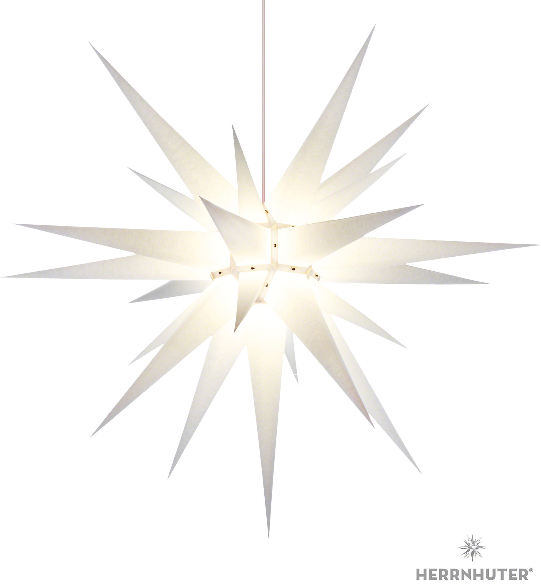 herrnhuter moravian star i8 white paper 80cm 31in by herrnhuter sterne. Black Bedroom Furniture Sets. Home Design Ideas