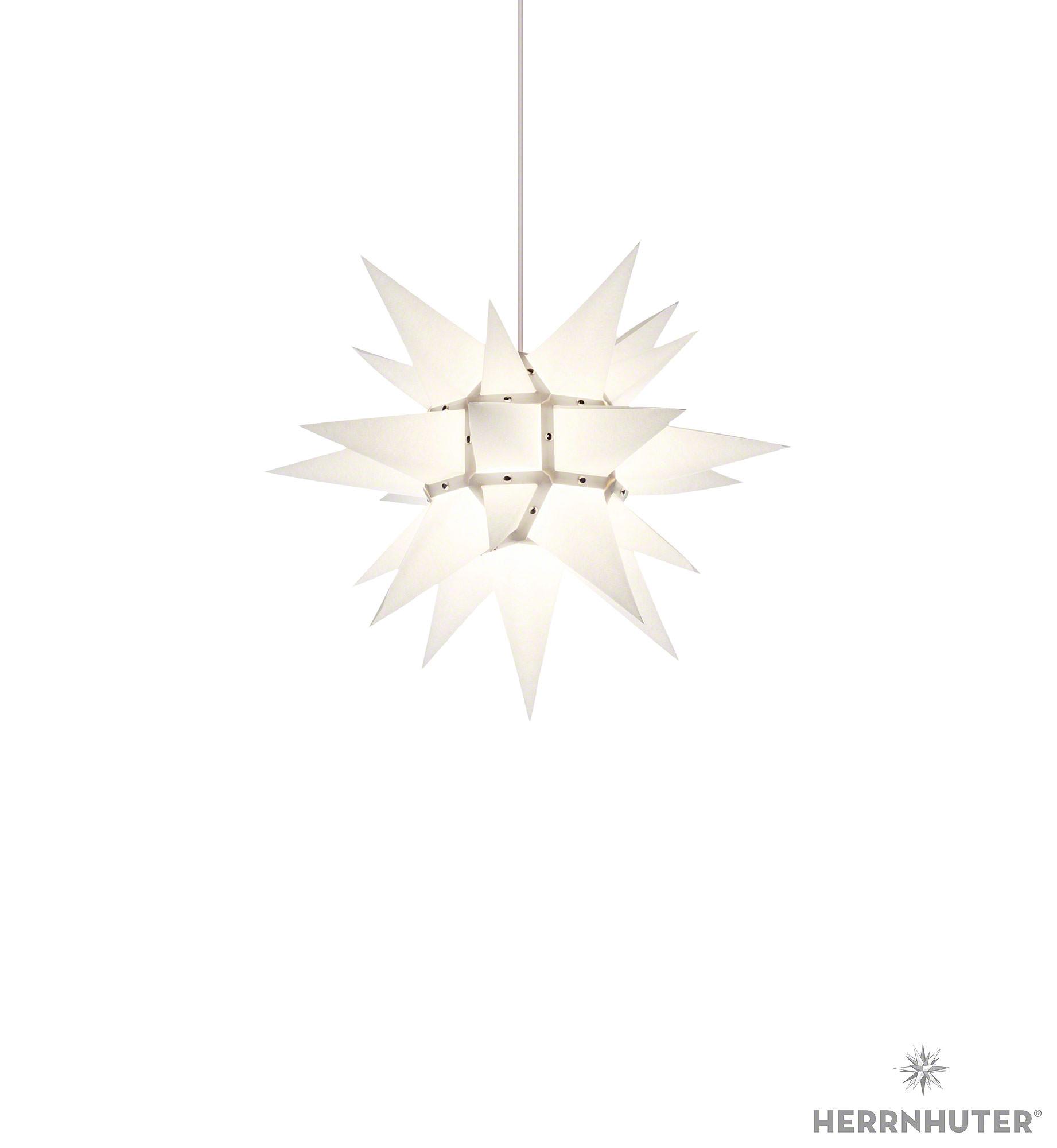 herrnhuter stern i4 weiss papier 40 cm von herrnhuter sterne. Black Bedroom Furniture Sets. Home Design Ideas
