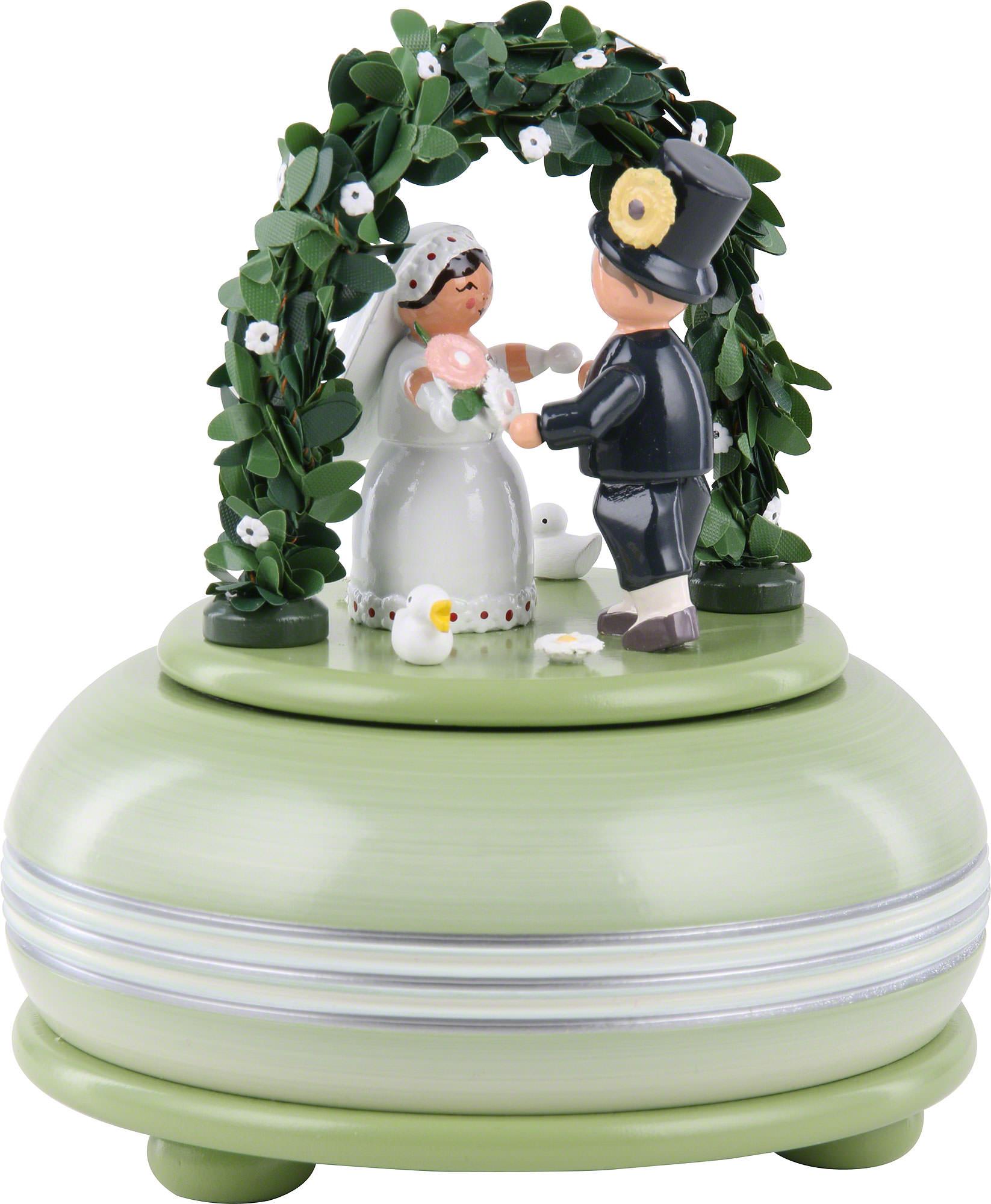 Wedding Music Box Gift: Music Box Wedding (15 Cm/5.9in) By KWO