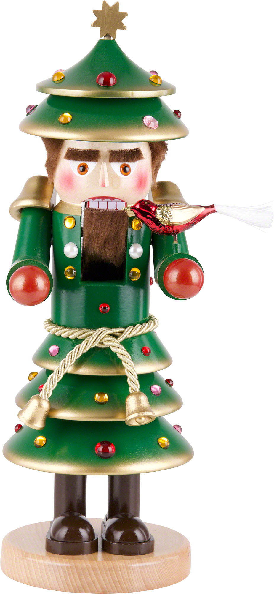 nutcracker christmas tree 40 cm 16 inch - Nutcracker Christmas Decorations