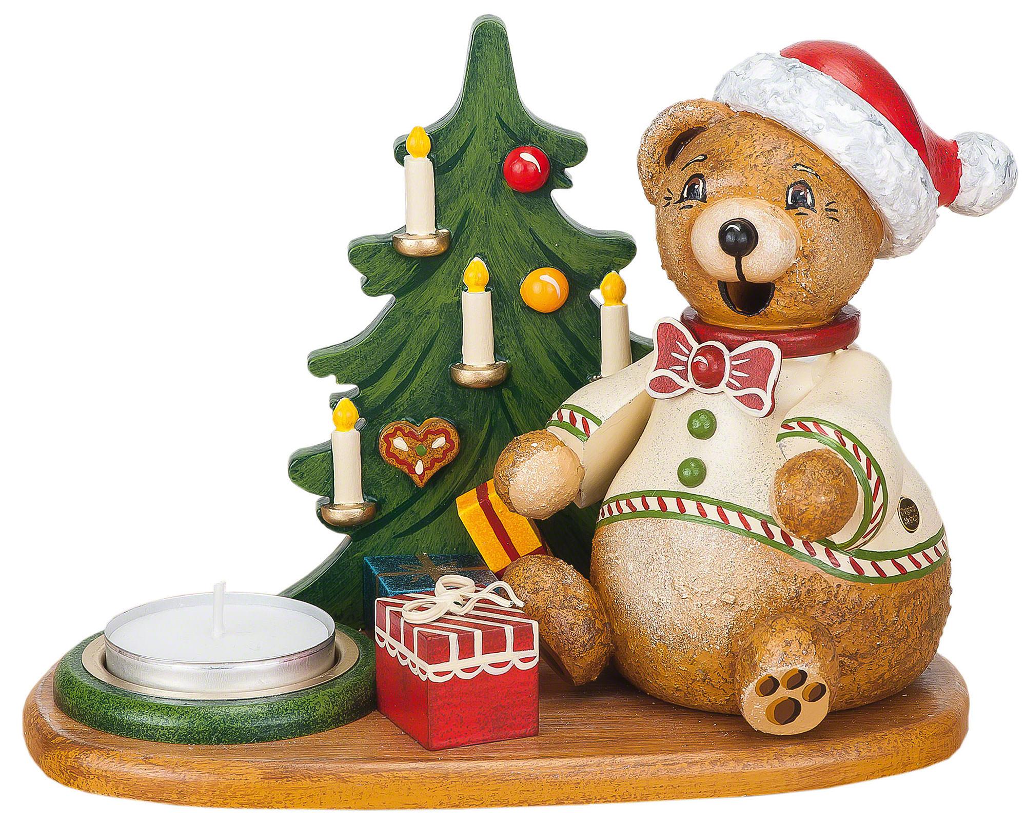 Räuchermännchen Hubiduu - Teddys Weihnachtsgeschenke mit Teelicht ...