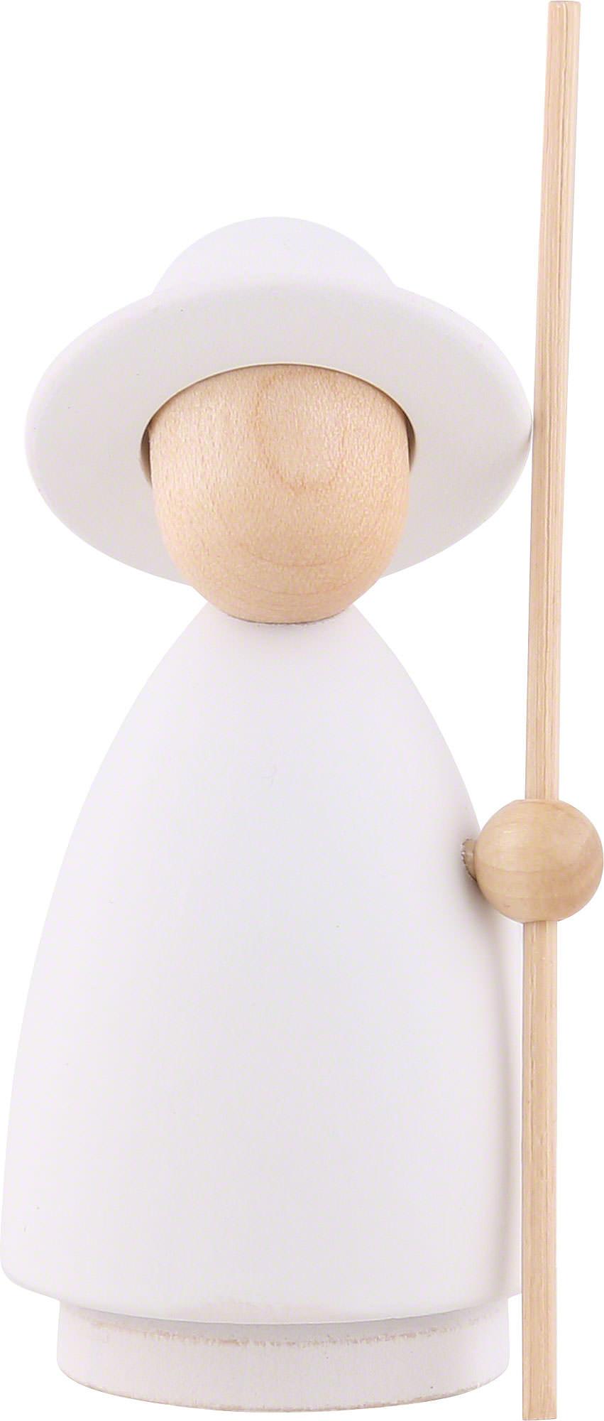 shepherd modern white natural large 10 cm by hennig figuren. Black Bedroom Furniture Sets. Home Design Ideas