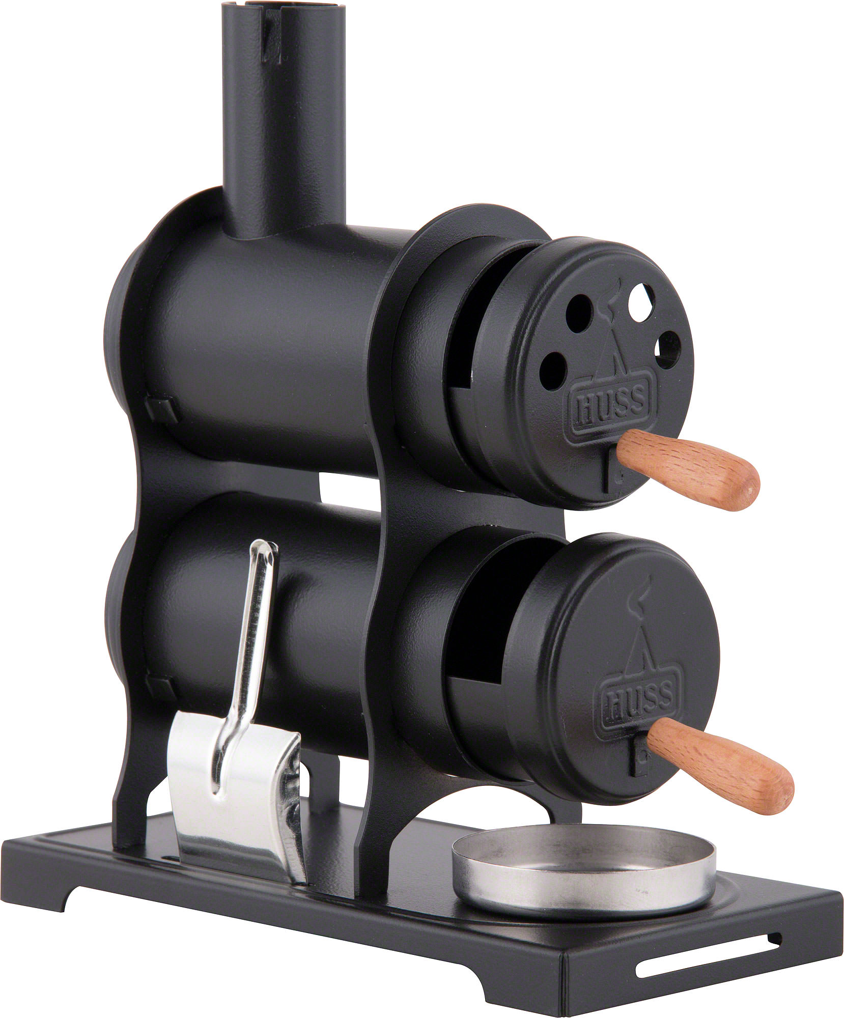smoking stove the workshop stove black 13 5 cm by huss r ucherkerzen. Black Bedroom Furniture Sets. Home Design Ideas