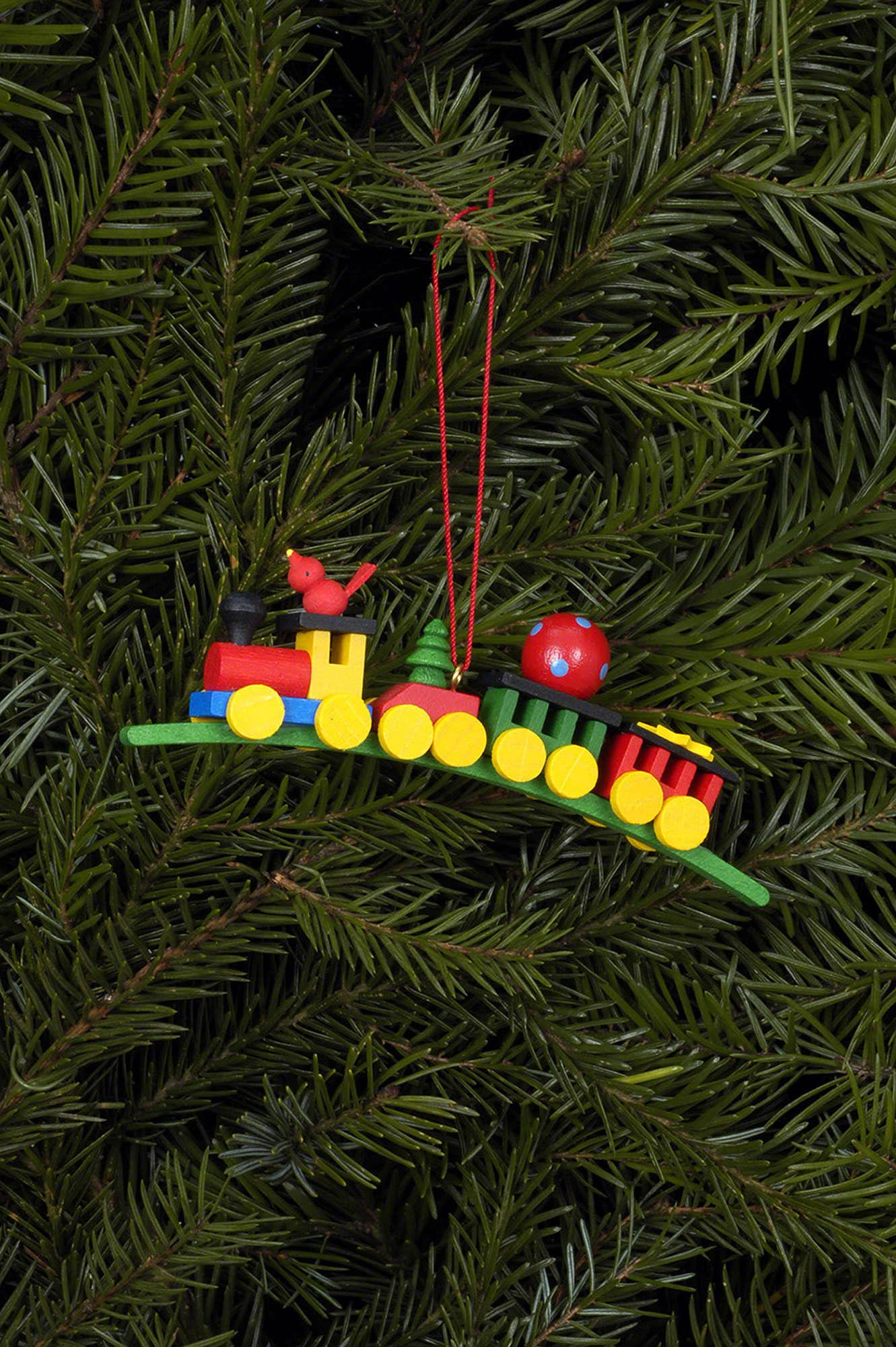 tree ornament present train 10430 cm 4112 inch