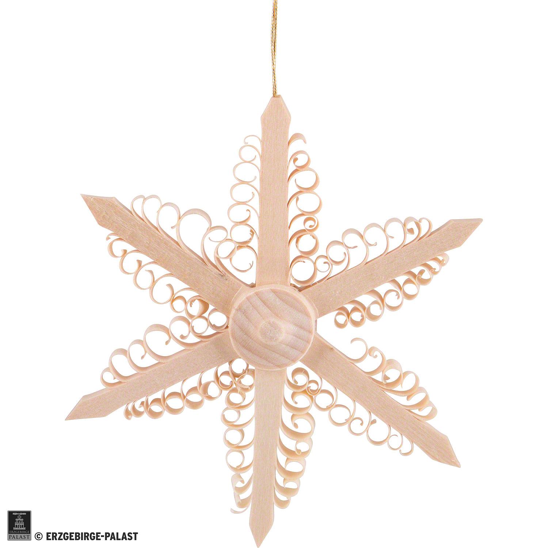 Weihnachtsstern mit Spanlocken