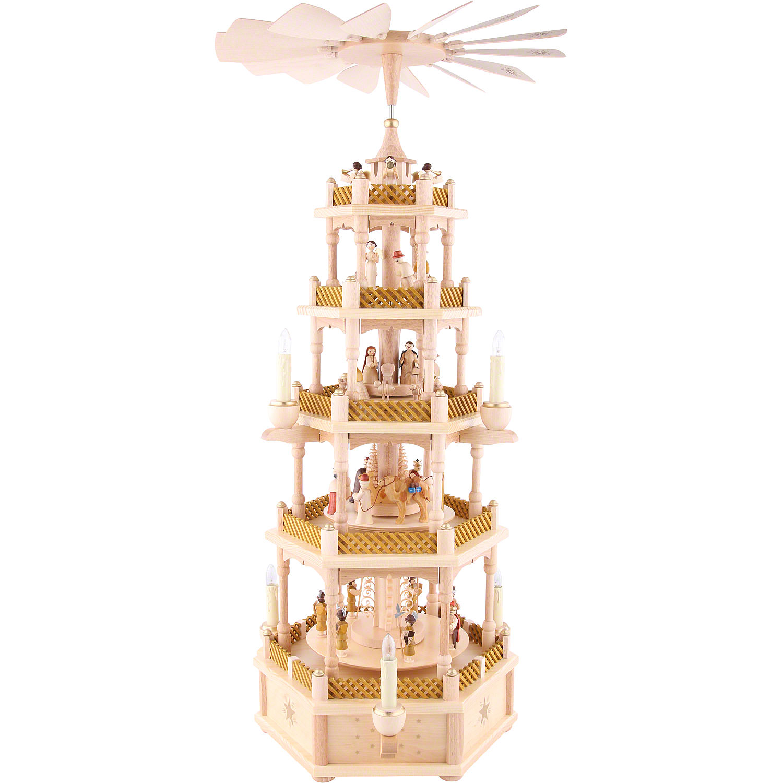 Elektrisch betriebene 5-stöckige Pyramide