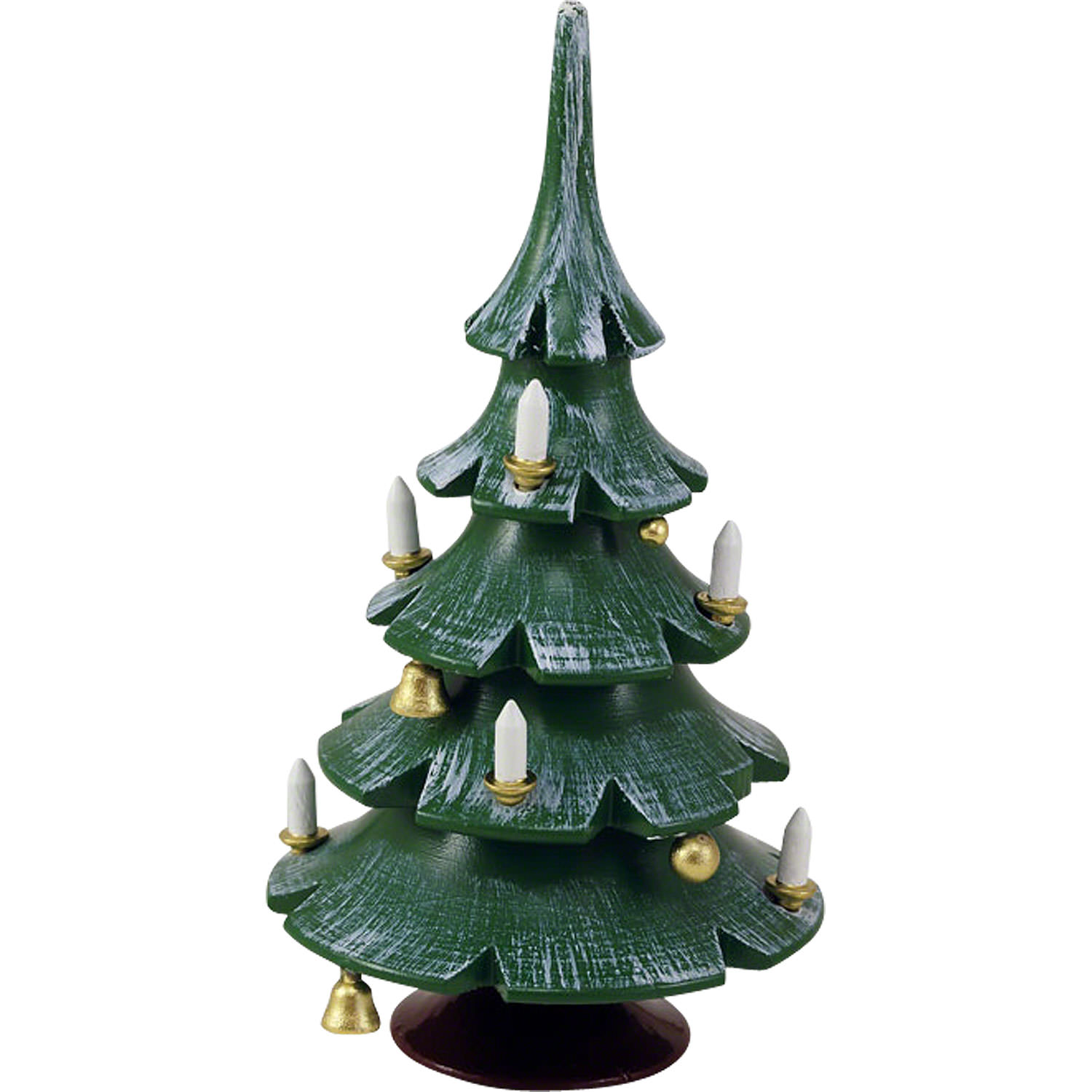 christmas tree with bells colored 12 cm 47 inch
