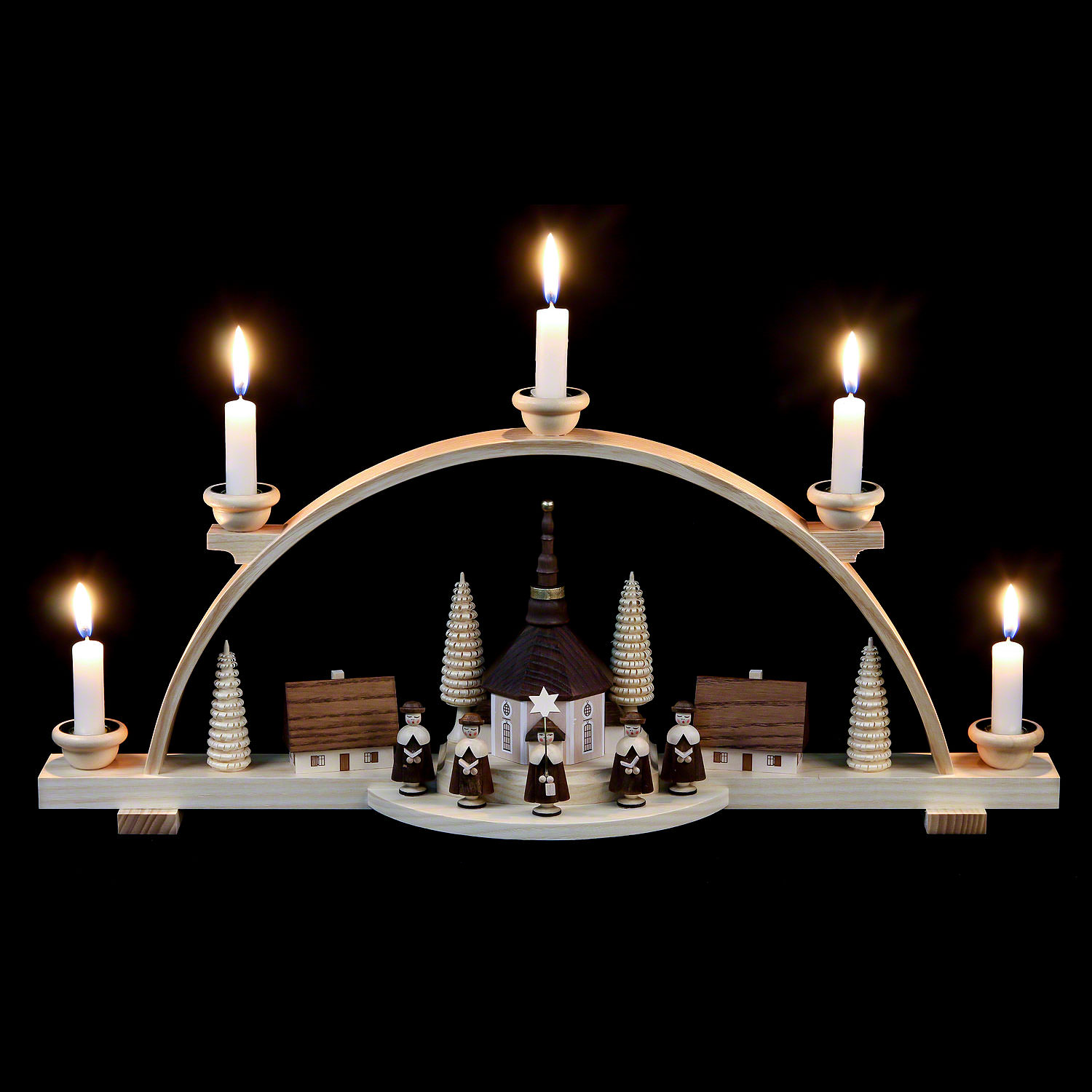 Candle Arch Carolers 47 cm 19in by Müller Kleinkunst