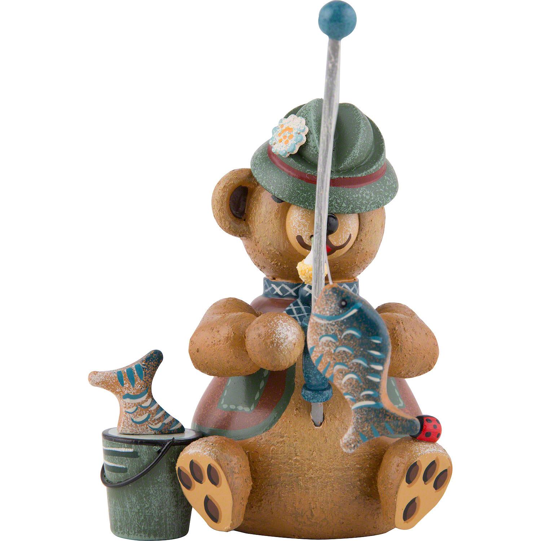 Sammelfigur Teddybär aus Holz