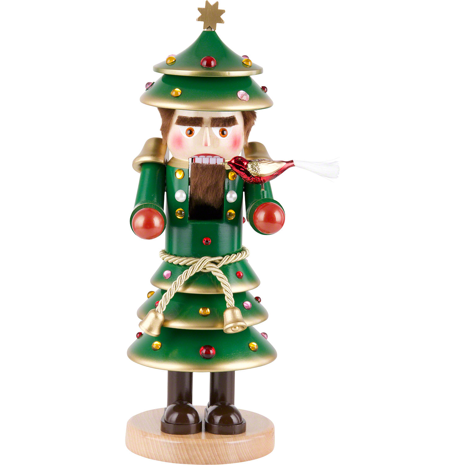 Nutcracker - Christmas Tree (40 cm/16in) by Steinbach Volkskunst