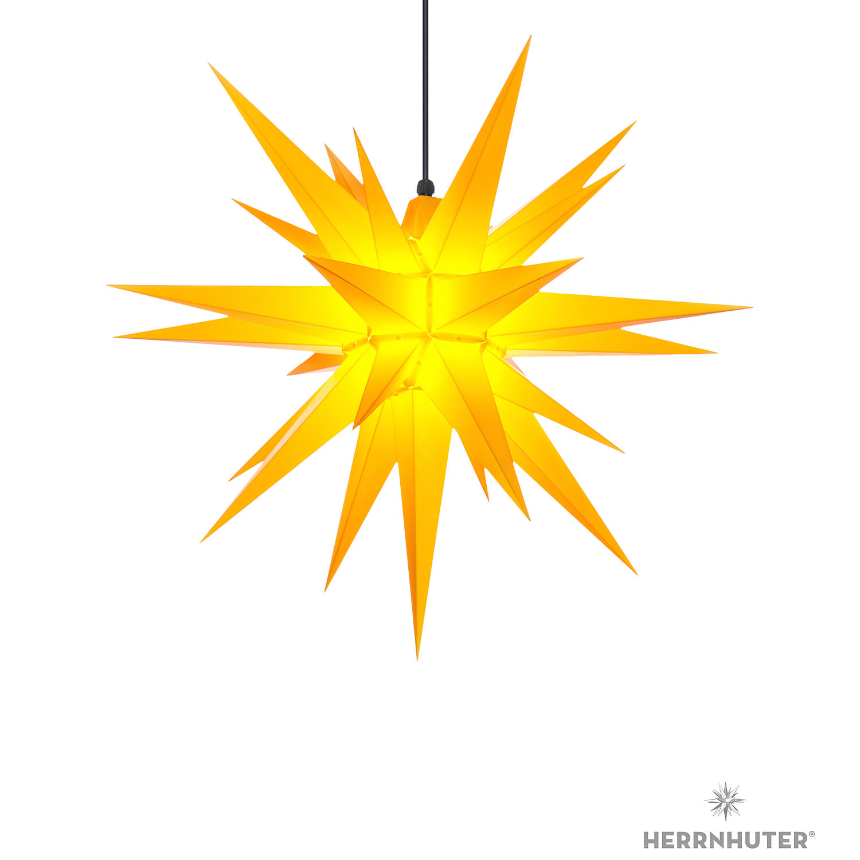 Herrnhuter Stern A7 Gelb Kunststoff 68 Cm Von Herrnhuter Sterne