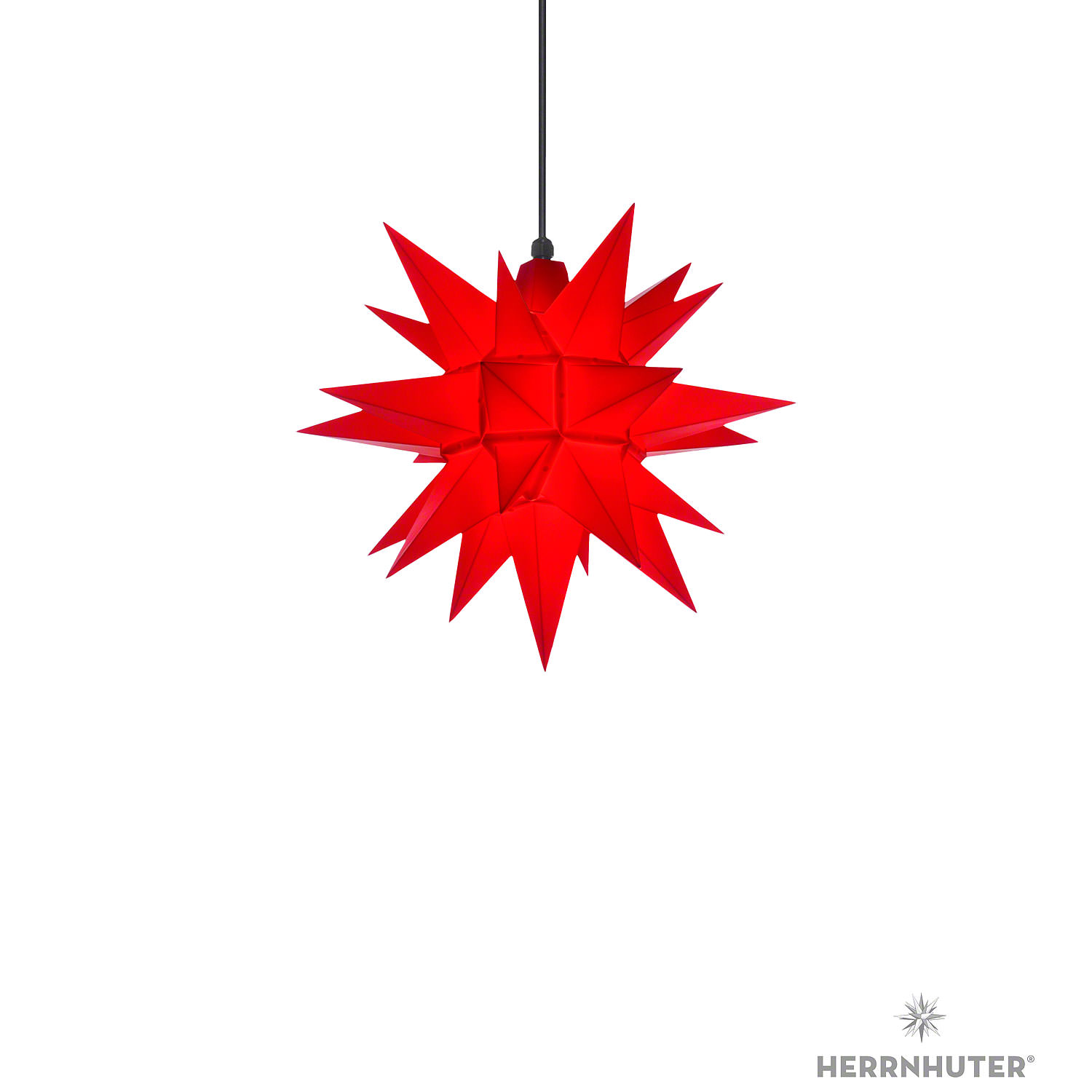 Herrnhuter Moravian Star A4 Red Plastic 40cm16in By Herrnhuter Sterne