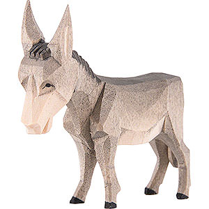 Schnitzereien Emil Helbig Krippenfigur Esel
