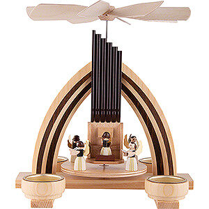 Christmas-Pyramids 1-tier Pyramids 1-Tier Pyramid  - Angel Orchestra - 25 cm / 9.8 inch