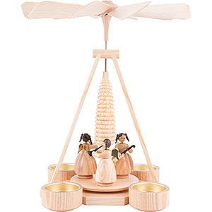 Christmas-Pyramids 1-tier Pyramids 1-Tier Pyramid - Angels - 25 cm / 9.8 inch