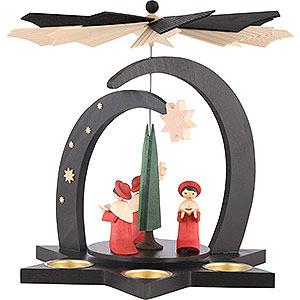 Christmas-Pyramids 1-tier Pyramids 1-Tier Pyramid - Carolers - 27 cm / 10,5 inch