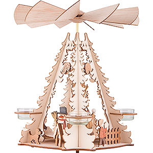 Christmas-Pyramids 1-tier Pyramids 1-Tier Pyramid - Children - 32 cm / 12.6 inch