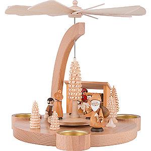 Christmas-Pyramids 1-tier Pyramids 1-Tier Pyramid Christmas Market - 25 cm / 9.8 inch