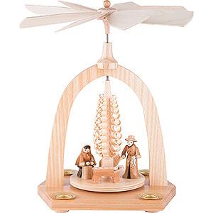 Christmas-Pyramids 1-tier Pyramids 1-Tier Pyramid - Crib - 23 cm / 9 inch