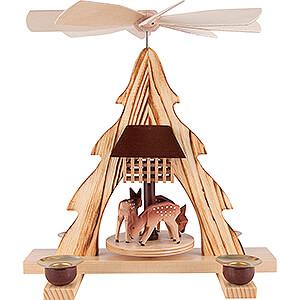Christmas-Pyramids 1-tier Pyramids 1-Tier Pyramid - Deer - 21 cm / 8.3 inch