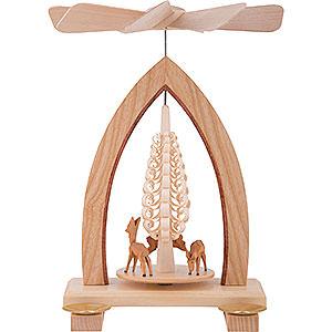 Christmas-Pyramids 1-tier Pyramids 1-Tier Pyramid - Deer - 25 cm / 10 inch