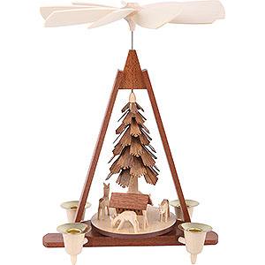 Christmas-Pyramids 1-tier Pyramids 1-Tier Pyramid - Deer - 29 cm / 11 inch