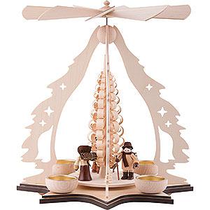Christmas-Pyramids 1-tier Pyramids 1-Tier Pyramid - Forest Children - 37 cm / 14.5 inch