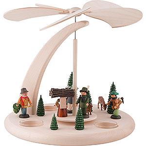 Christmas-Pyramids 1-tier Pyramids 1-Tier Pyramid - Forest Life - 25 cm / 10 inch