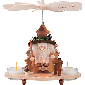Christmas-Pyramids 1-tier Pyramids 1-Tier Pyramid - Forestman - 19,5 cm / 8 inch