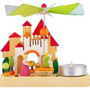 Christmas-Pyramids 1-tier Pyramids 1-Tier Pyramid - Frog King - 12,5 cm / 4.9 inch