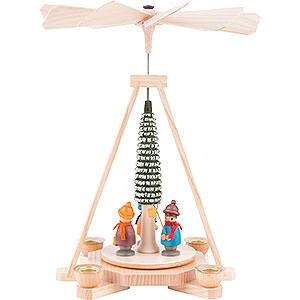 Christmas-Pyramids 1-tier Pyramids 1-Tier Pyramid - Lantern Children - 23 cm / 9 inch