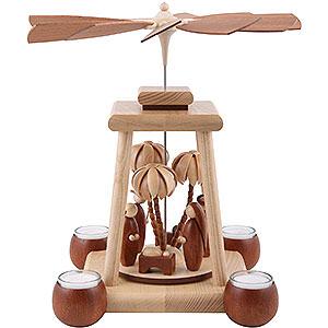 Christmas-Pyramids 1-tier Pyramids 1-Tier Pyramid - Modern Design - 34 cm / 13 inch