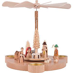 Christmas-Pyramids 1-tier Pyramids 1-Tier Pyramid Nativity - 25 cm / 9.8 inch