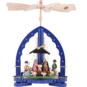 Christmas-Pyramids 1-tier Pyramids 1-Tier Pyramid - Nativity Scene - 27 cm / 11 inch