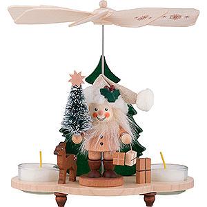 Christmas-Pyramids 1-tier Pyramids 1-Tier Pyramid - Santa - 19,5 cm / 8 inch