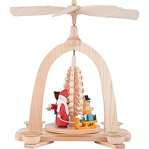 Christmas-Pyramids 1-tier Pyramids 1-Tier Pyramid - Santa - 23 cm / 9 inch